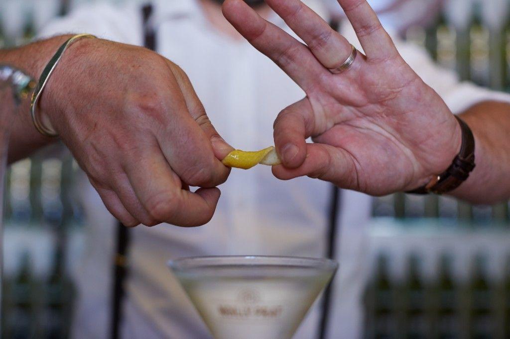 perfect dry martini