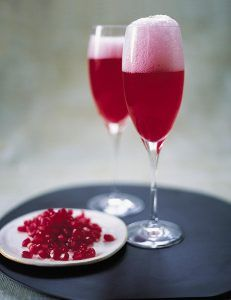 Wicked champagne cocktail