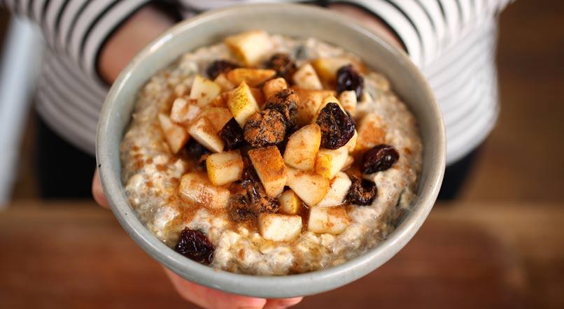 Healthy breakfast muesli: Anna Jones