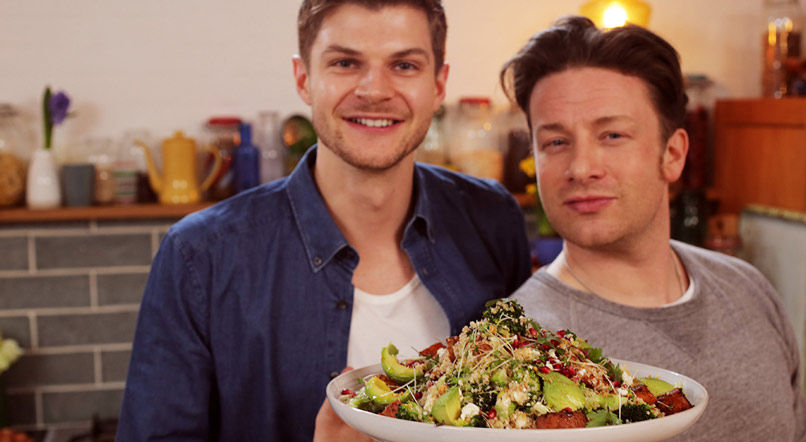 Superfood salad: Jamie Oliver & Jim Chapman
