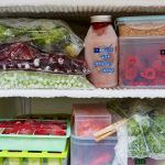 freezer tips - freezer filled with food in storage containers