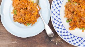 Veg & lentil cottage pie: Michela Chiappa