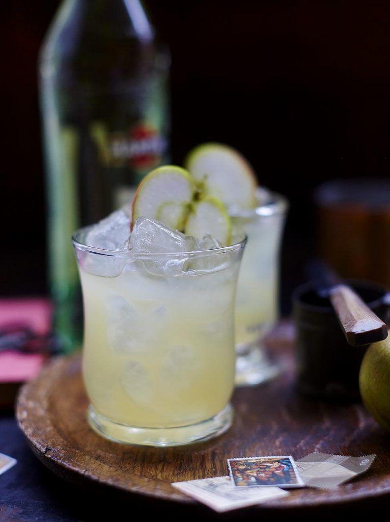 Autumn crumble cocktail