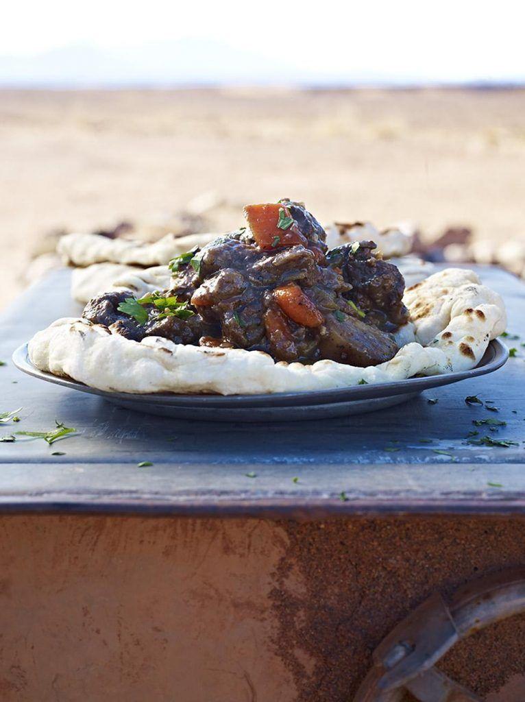Venison and juniper stew