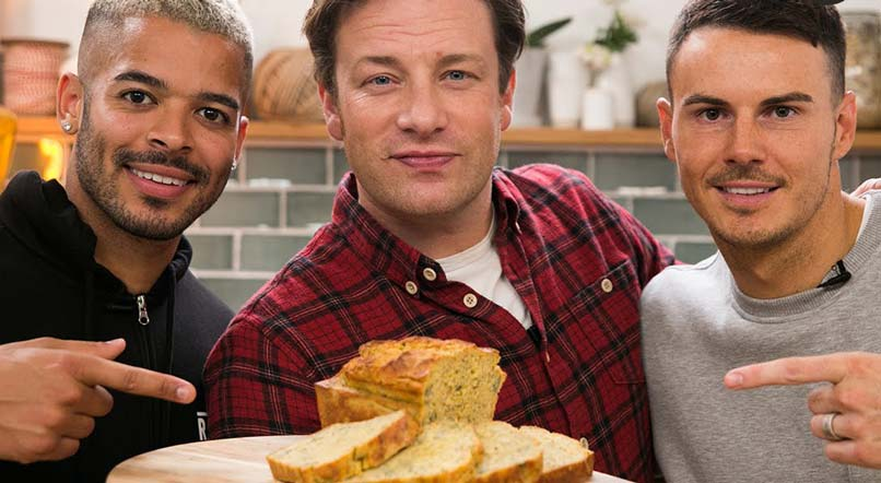 Super-food protein loaf:  F2 Freestylers & Jamie Oliver