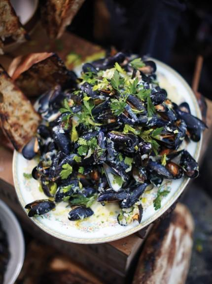 Highland mussels