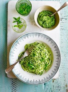 Courgette 'spaghetti'