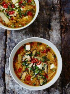 Hot & sour soup