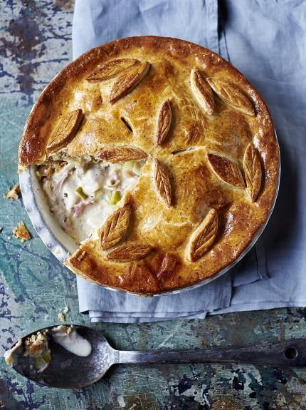 Gluten-free chicken pie
