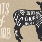 lamb cuts image of lamb sections