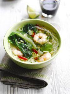 Simple noodle soup