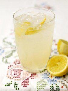 Gin & elderflower sherbet