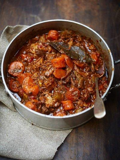 Insanely good oxtail stew