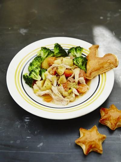 Jools' simple chicken & veg stew