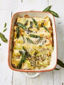 Baked cannelloni