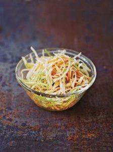 Coleslaw kimchi
