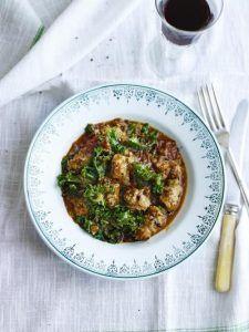 Kale & sausage stew