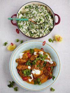 Beef kofta curry