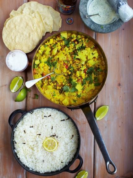 Keralan veggie curry