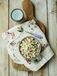 Michela's ham & cheese pasta
