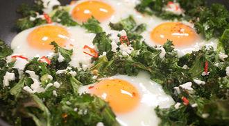 Green eggs, no ham: Tobie Puttock