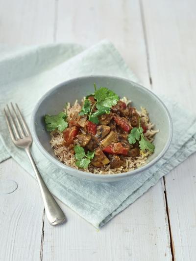 Mega mushroom & lentil curry