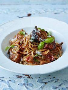 Sicilian spaghetti alla Norma