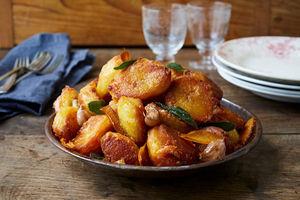 How to make roast potatoes with sage & orange