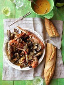 Shellfish & cider stew