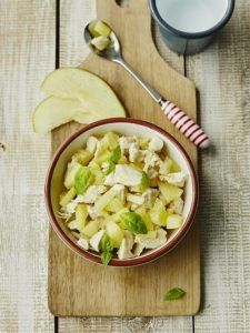 Michela's potato, apple and chicken