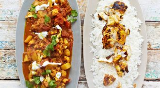 Fantastic fish tikka curry: Kerryann Dunlop