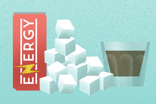 energy drinks banner