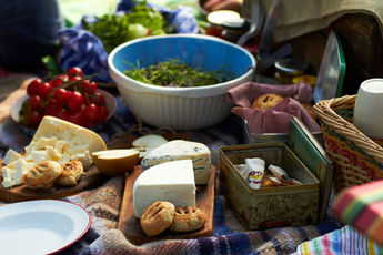 How to pack a picnic without bread