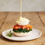 Egg recipes - eggs royale salmon with hollandaise sauce