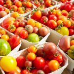 Array of tomatoes for ripe tomatoes recipe ideas