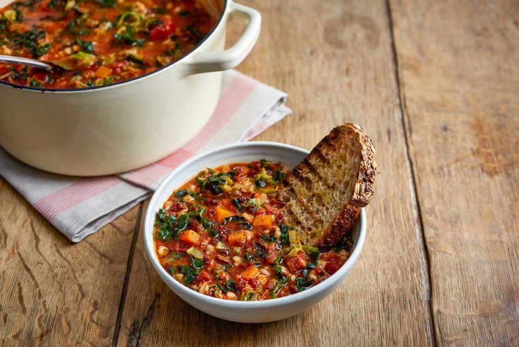 Minestrone soup - the perfect student dinner