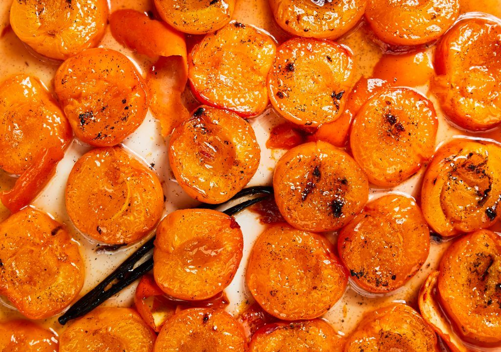 backed apricots