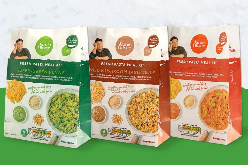 Jamie Oliver pasta kits