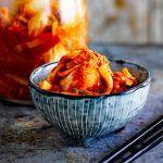 kimchi in a bowl
