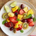 Grilled fruit salas to make with the kids this summer holiday