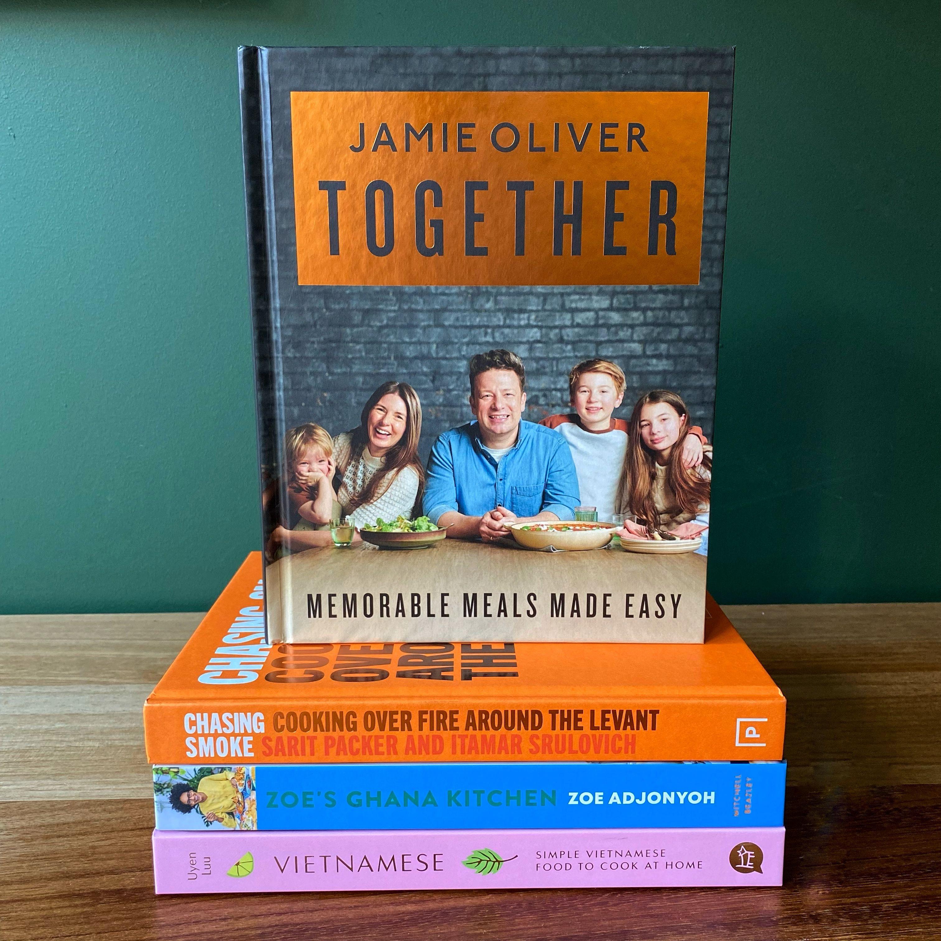 Jamie Oliver's Cookbook Club Prize Draw