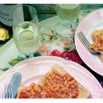 beans on toast with prosecco on the side