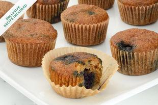Gluten-free blueberry mini muffins