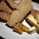truffle cheese slices and bread