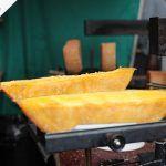 Swiss raclette-style treat