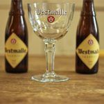 2 bottles of westmalle Belgian beer