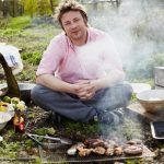 open fire cooking with Jamie oliver