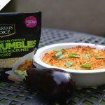 Vegetarian Parmigiana with Pilgrims Choice Crumbles