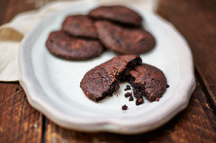 Dairy- and gluten-free chocolate avocado cookies
