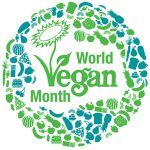 world vegan month header